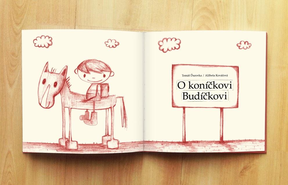 foto knihy Koníček budíček z archívu Alžbety Kováčovej