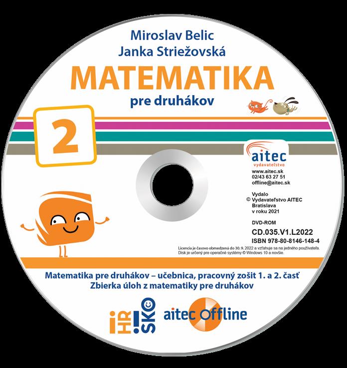 aitec offline k Matematike pre druhákov