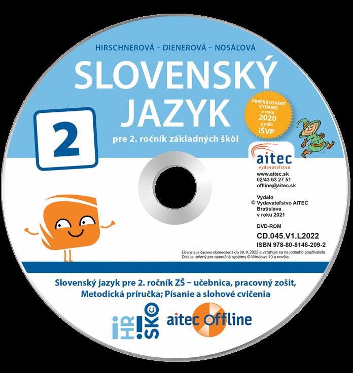 aitec offline k Slovenskému jazyku pre 2. ročník ZŠ
